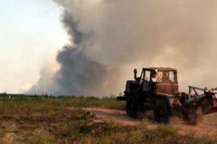 Под Киевом вновь горят торфяники