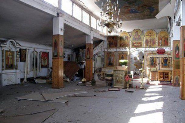 В центре Запорожья взорвали храм