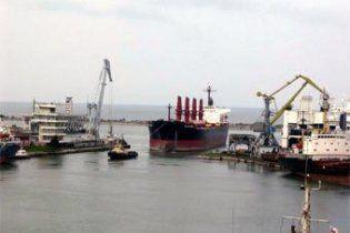 Грузинские пограничники задержали украинское судно
