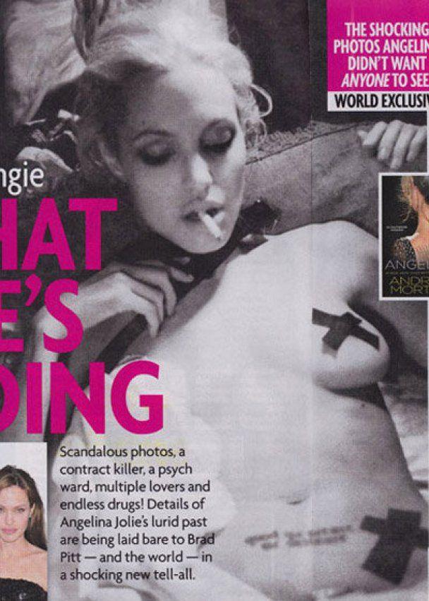 Журнал Star Magazine надрукував 8 шокуючих фото Анджеліни Джолі