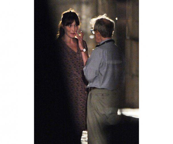 Актерский дебют Карлы Бруни-Саркози