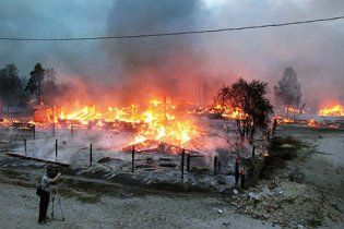 У Криму оголошена надзвичайна пожежна небезпека