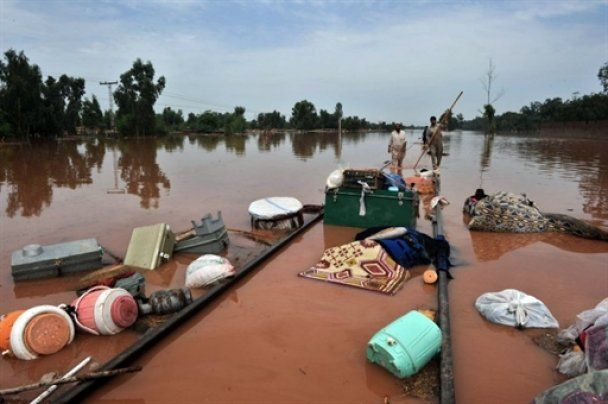 Жертвами повеней у Пакистані стало 800 людей