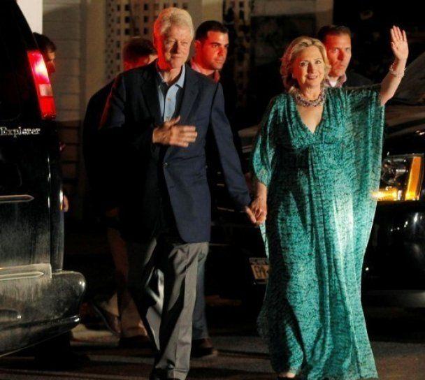 Хиллари Клинтон стала звездой таблоидов после свадьбы Челси