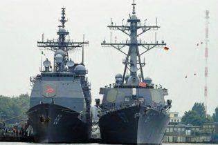 Два американских десантных корабля прибыли в Средиземное море