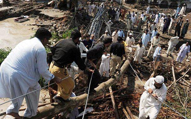 Пакистан потерпає від руйнівної повені