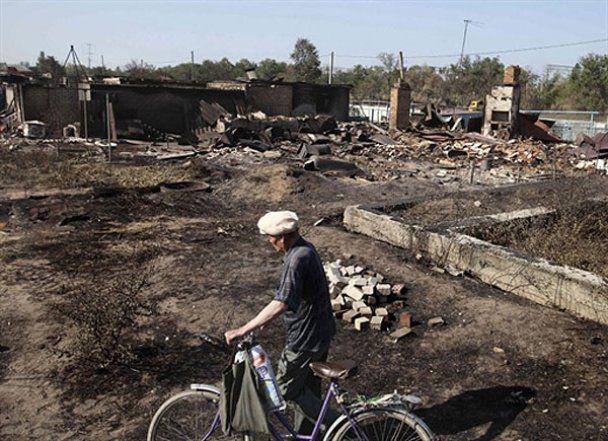 Из-за пожаров в России введен режим чрезвычайной ситуации