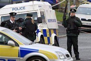 В Северной Ирландии неизвестные взорвали автомобиль рядом с полицией