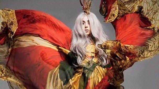 Lady GaGa шокувала своїм взуттям