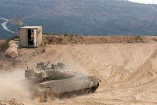 Після перестрілки Ізраїль перекидає танки до кордону з Ліваном