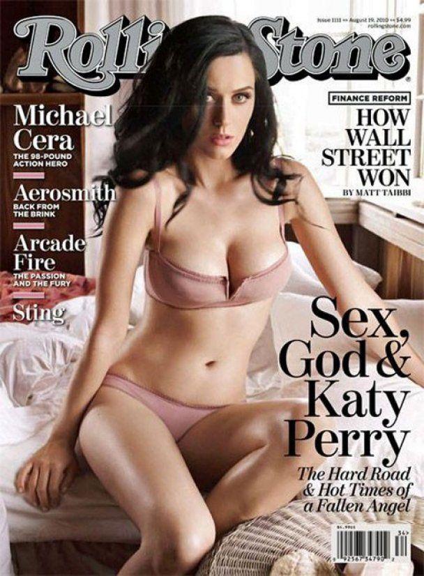 Відверта фотосесія Кеті Перрі для Rolling Stone