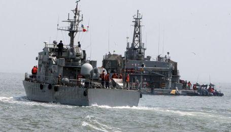 Южная Корея начала военные учения в Желтом море