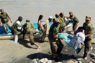 У Пакистані від повені постраждали 12 мільйонів людей