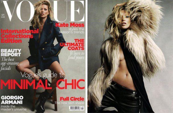 Кейт Мосс снялась для британского Vogue