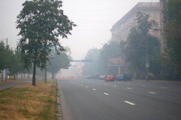 Москва задыхается от смога: угарного газа в воздухе втрое больше нормы