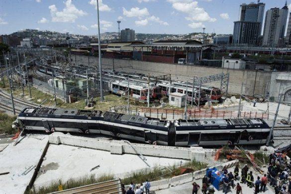 Залізнична катастрофа у Неаполі