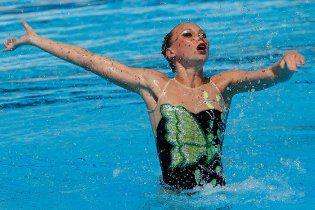Українка виграла бронзу у синхронному плаванні на чемпіонаті Європи