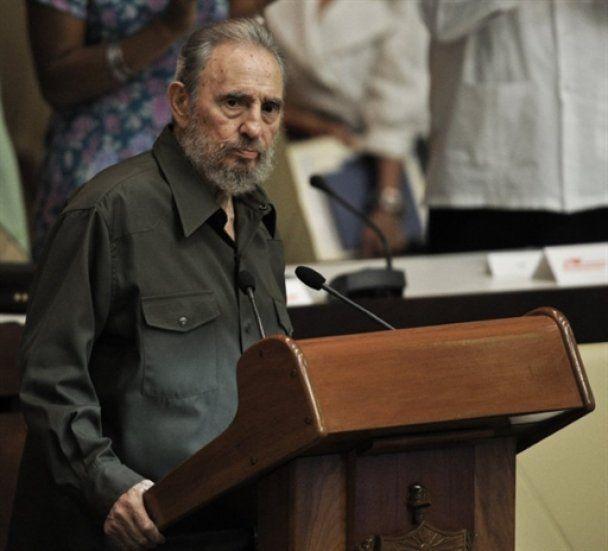 Фидель Кастро впервые за 4 года выступил в парламенте