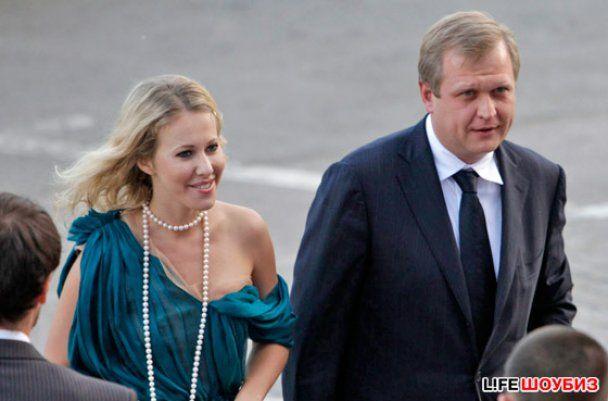 Ксения Собчак ушла от танцора Папунаишвили