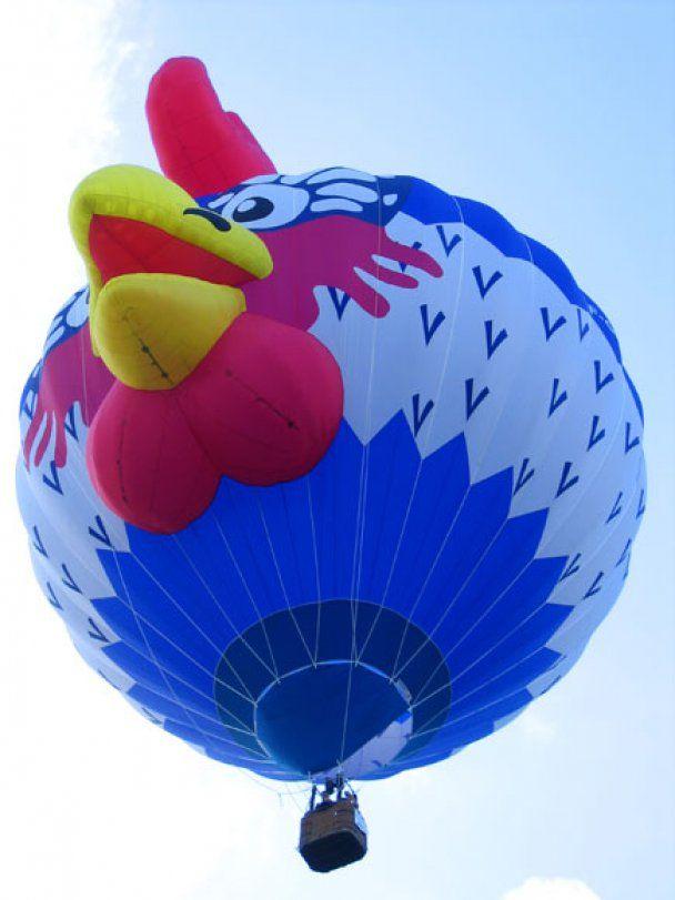 В Британии открылся фестиваль воздушных шаров