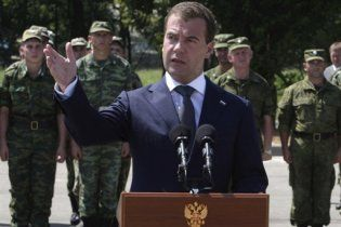Грузія побачила в діях Мєдвєдєва радянський цинізм