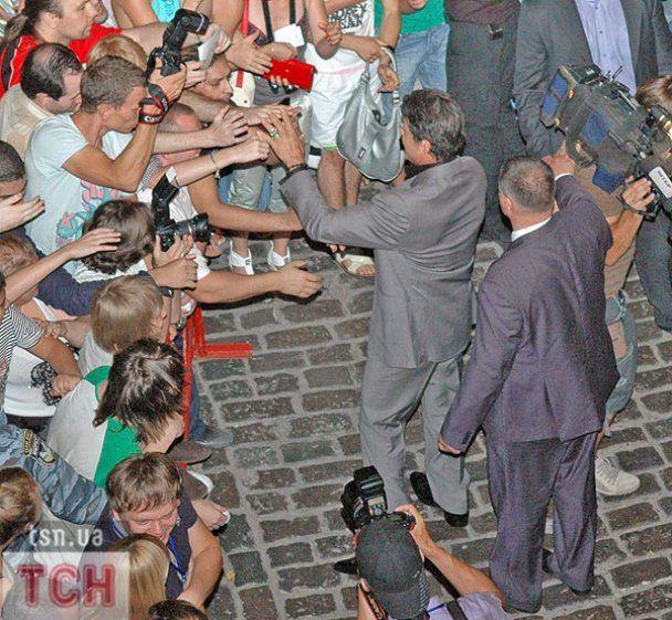 Янукович і Білик сходили на Сталлоне у Києві