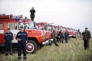 Військові патрулі оточили склади боєприпасів на Лозовій