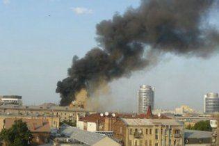 В центре Днепропетровска горел компьютерный клуб