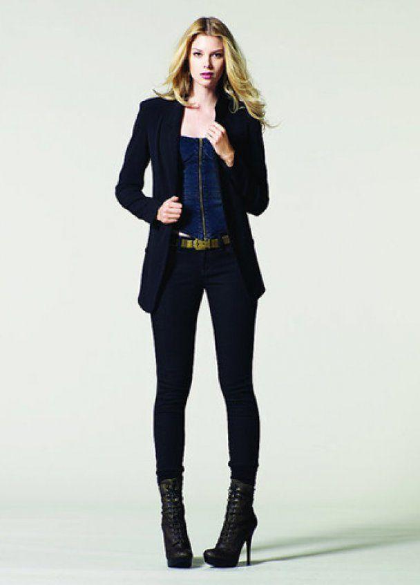 Джессика Симпсон показала осеннюю коллекцию одежды