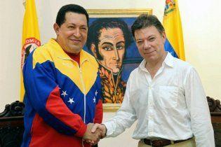 Венесуела і Колумбія поновили дипломатичні зв'язки