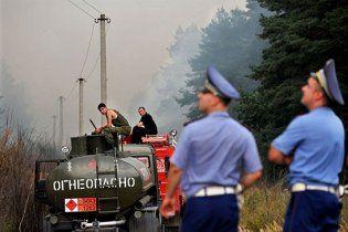 Greenpeace: пожежі в Росії підняли у повітря радіацію