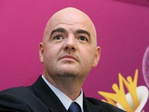 Генеральний секретар УЄФА Джанні Інфантіно