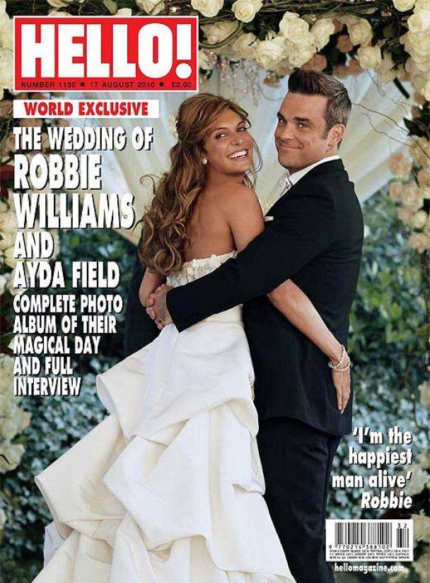 Роббі Вільямс розповів про своє весілля
