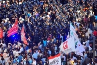 Буша в Южной Корее встретили протестами (видео)