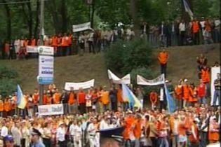 По всей Украине проходят массовые забастовки газовиков (видео)