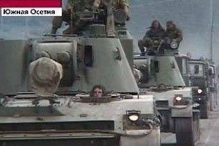 Российская армия обстреливает грузинские позиции