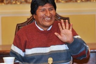 Боливийцы поддержали Моралеса