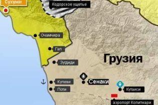 Российские войска - на территории Грузии (видео)