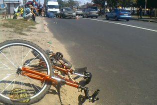 Велосипедиста сбили насмерть на пешоходном переходе (видео)