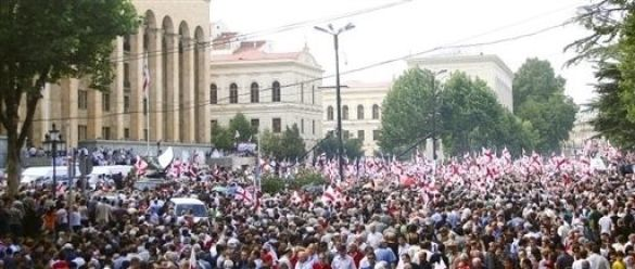 Мітинг у Грузії