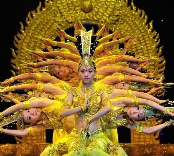 Танцівниці у Пекіні