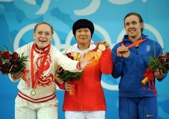 Медалістки