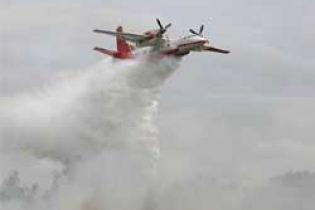 Масштабный пожар в Харьковской области ликвидирован (видео)