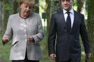 Меркель: Решение Медведева - неприемлемо (видео)