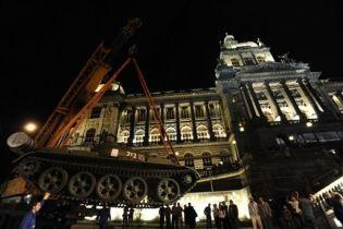В Праге с гостиницы похищены акции на 12 млн. евро (видео)