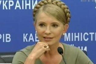 Тимошенко хочет успеть дать деньги школьникам до 1 сентября