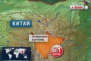 Жертвами землетрясения в Китае стало 24 человека
