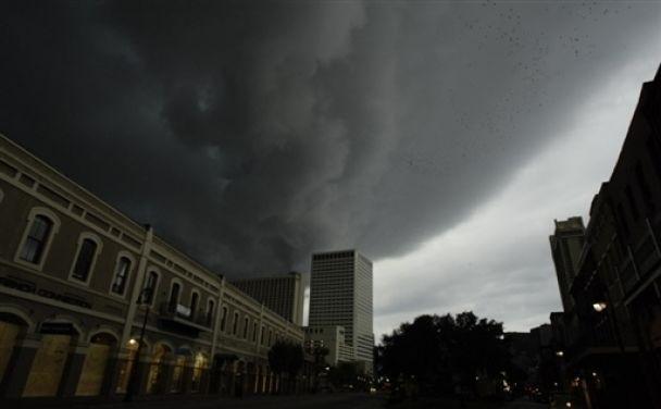 """Ураган """"Густав"""" - в США (видео)"""