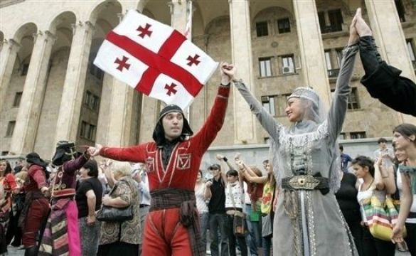 Акція протесту в Тіблісі
