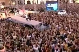 В Кракове массово танцевали ча-ча-ча (видео)